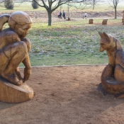 Regents park 'Fox and the Girl'