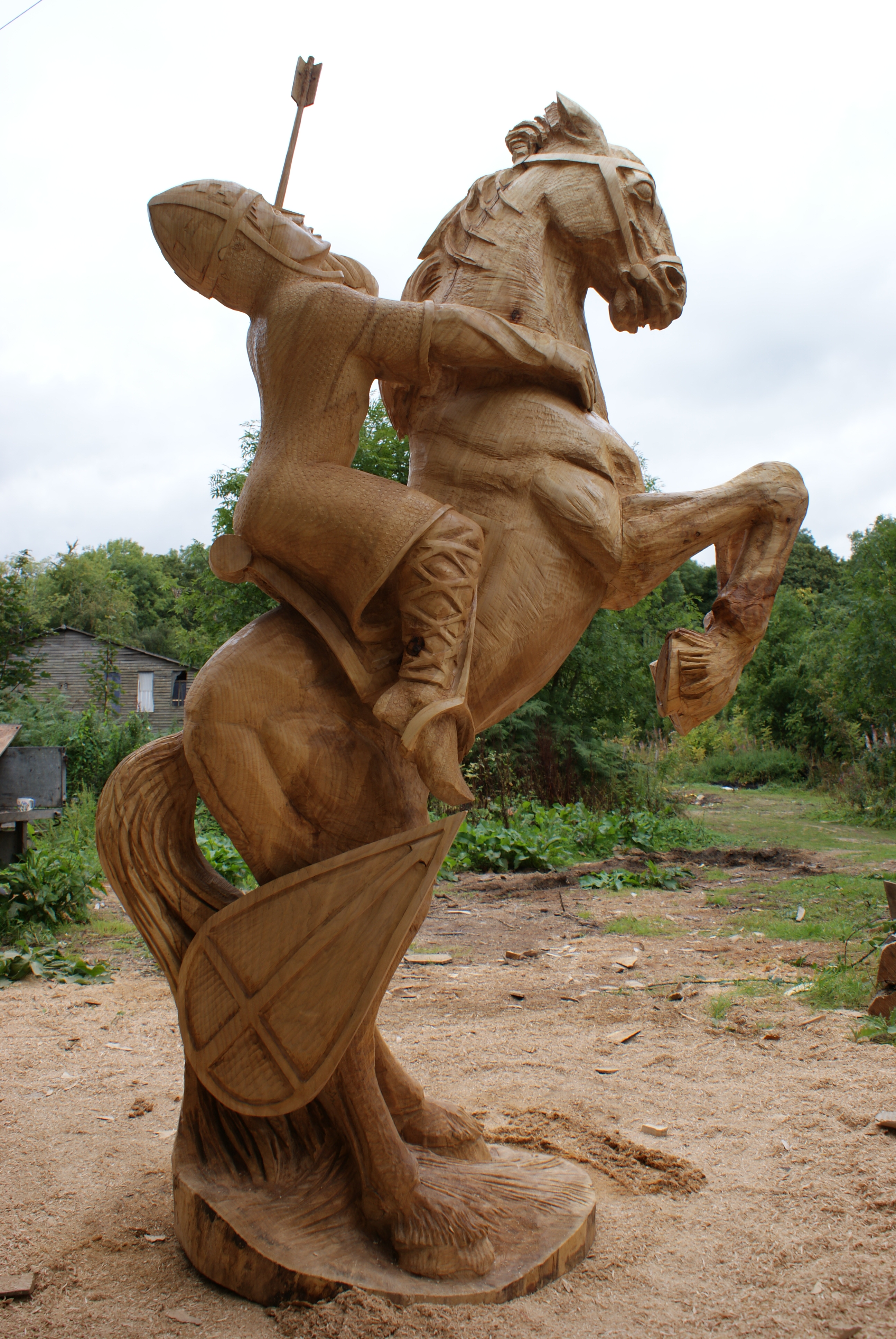 Carver harvey chainsaw sculpture gallery